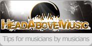 head above music