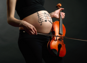 pregnant women music
