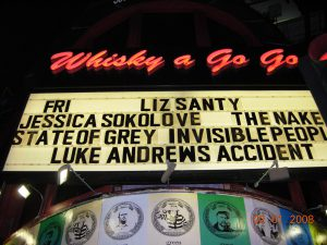 luke andrews whisky a go go